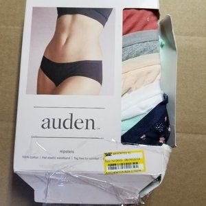 Auden Women's 6pk Cotton Hipster Asstd XL 16